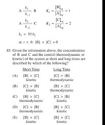 homework how do thermodynamics and kinetics control this