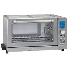 Home Outfitters Toasters Cuisinart Deluxe Convection Toaster Oven 0 6 Cu Ft Stainless