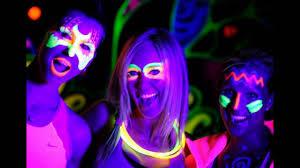 neon party neon lights party iglesia gc