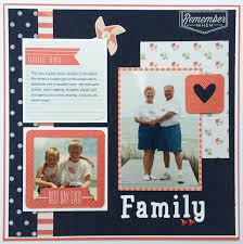 scrapbook album kits denim blues we r memory keepers