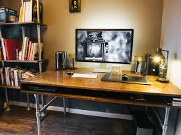 Wire Computer Desk How I Built A Custom Desk And Wire Free Workspace For My Photo Editing