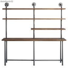 estantes y baldas estanter祗a estanter祗as de tuber祗as de estilo industrial con baldas