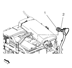 repair instructions battery negative cable disconnection and