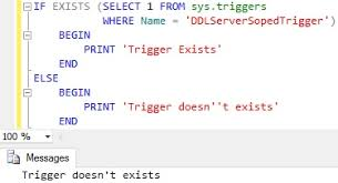 T Sql Drop Table If Exists How To Check If A Trigger Exists In Sql Server Sqlhints Com