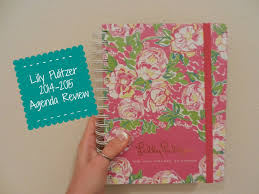 review lilly pulitzer agenda 2014 2015 large size back to