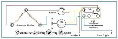 wiring diagram for ac compressor
