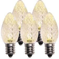 replacement light bulbs christmas lights white amazon com