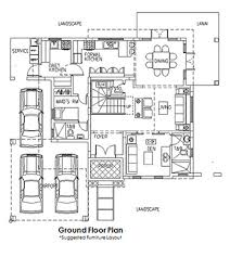 Fontainebleau Floor Plan Chateaux De Paris House And Lot Real Estate Properties For Sale In