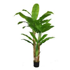 laura ashley artificial banana tree with real touch leaves vhx117