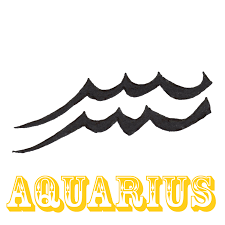 aquarius sun sign design