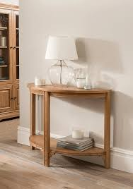 miranda half moon console table vine mill furniture