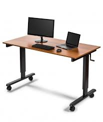 Sit Stand Desk Reviews Reviews For 60 Crank Adjustable Height Sit To Stand Desk Stand
