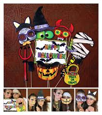 party city halloween photo props creepy halloween photo booth props perfect for your