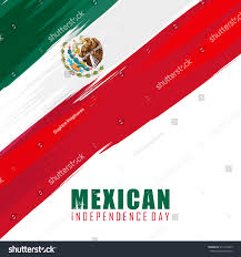 Mexican Party Flags Mexican Independence Day Flag Design Mexico Stock Vector 314116529