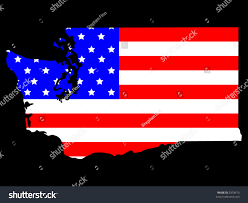 Maps Of Washington State by Map State Washington American Flag Jpg Stock Vector 2918410