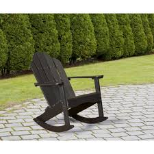 Recycled Plastic Adirondack Chairs Wildridge Adirondack Rocking Chair Rocking Furniture