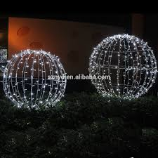 top sale light up large outdoor balls for buy