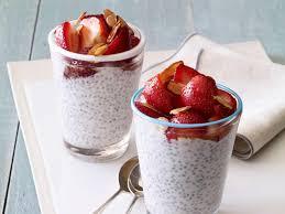 giada u0027s chia seed breakfast pudding food network healthy eats