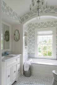 recessed vertical bathroom shelves design ideas