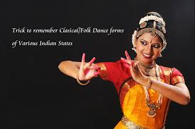 trick to remember the dance forms of indian states part 1 youtube