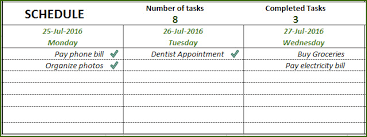 free to do list template in excel to create u0026 manage tasks to do