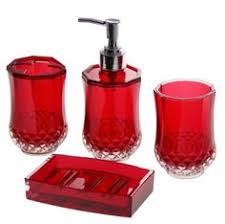 20 fascinating red bathroom accessories red bathroom accessories