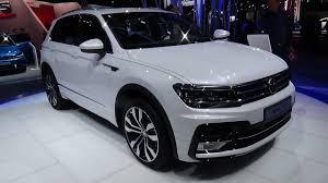 white volkswagen tiguan interior 2017 volkswagen tiguan r line exterior and interior paris auto