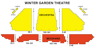 Winter Garden Seating Chart - winter garden theater nyc seating chart all the best garden in 2017