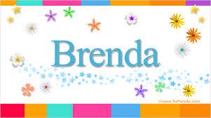 imagenes de cumpleaños para brenda brenda nombres populares de mujer tarjetas