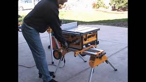 dewalt table saw review dewalt dw745 table saw and stand home review youtube