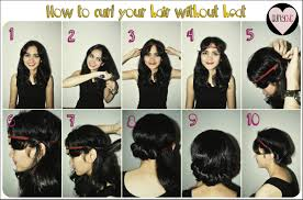 how to curl your hair fast with a wand hairstyle gallery headband curls tutorial how to curl your hair