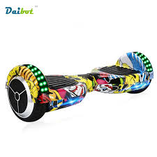 electric skateboard led lights new style 6 5 inch bluetooth hoverboard led lights two wheels self