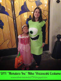 Monster Inc Halloween Costumes Adventures In Diy Diy