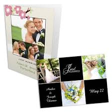 wedding announcements personalized photo wedding invitation announcements winkflash