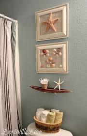 seashell bathroom decor ideas lewisville theme bathroom reveal looks like what i