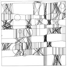 dam exhibitions plotter drawings from 1960s