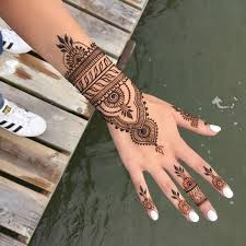 collection of 25 henna tattoo