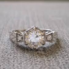 gold art rings images White gold art deco moissanite engagement ring deco shop jpg