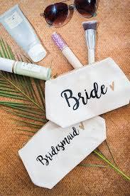 Bridal Party Makeup Bags The 25 Best Bridesmaid Makeup Bag Ideas On Pinterest