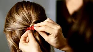 how to get a lifted crown hairdo the crown lift hairstyle by colette malouf thecmway youtube