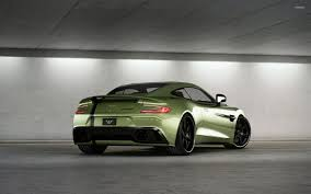 aston martin back aston martin vanquish wallpapers