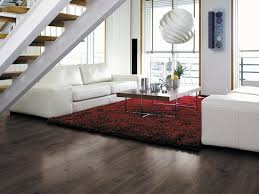 hdf laminate flooring click fit wood look commercial
