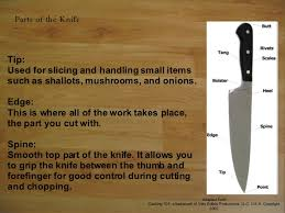 knife and cutting techniques