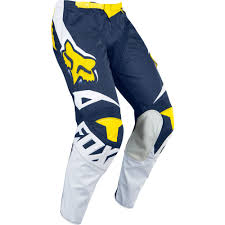 Fox 180 Race Se Motocross Pant White Yellow 2016 Mxweiss