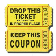 raffle tickets premium roll tickets doolins
