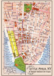 New York Gang Map by A Trip To Little Syria New York U0027s First Middle Eastern