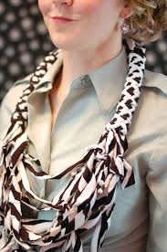 shirt necklace tutorial images Diy t shirt necklace thefashionspot jpg