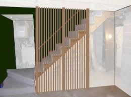 Banister Rails For Stairs Diy Stair Rail Ideas For Heather U0027s Retro Basement Remodel Retro