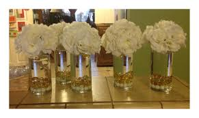 gold christmas table centerpieces for top christmas wedding