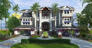 House Plans Coastal Coastal Style House Plan 3 Story Floor Plan Outdoor Living U0026 Pool